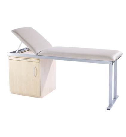 Medical ACM1 - Medistar Plinth Fixed Height Treatment Table, side view
