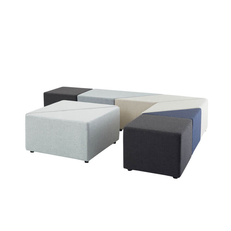 Collaborative Seating Medical Eightby4 Ottomans, config 9
