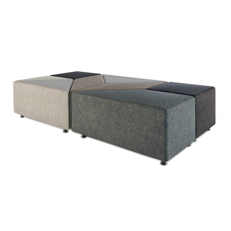Collaborative Seating Medical Eightby4 Ottomans, config 12