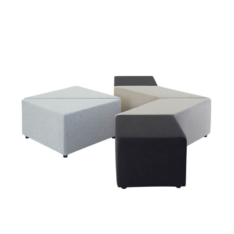 Collaborative Seating Medical Eightby4 Ottomans, config 10