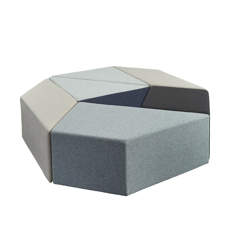 Collaborative Seating Medical Eightby4 Ottomans, config 13